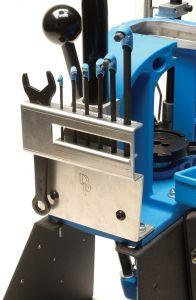 Dillon XL650 Werkzeughalter mit Werkzeug